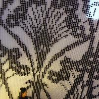 Ianthe pattern curtain at Libery Sloane Street, London